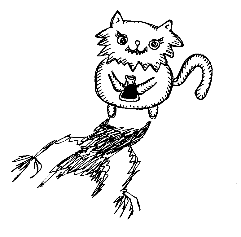 cat with teeth potion