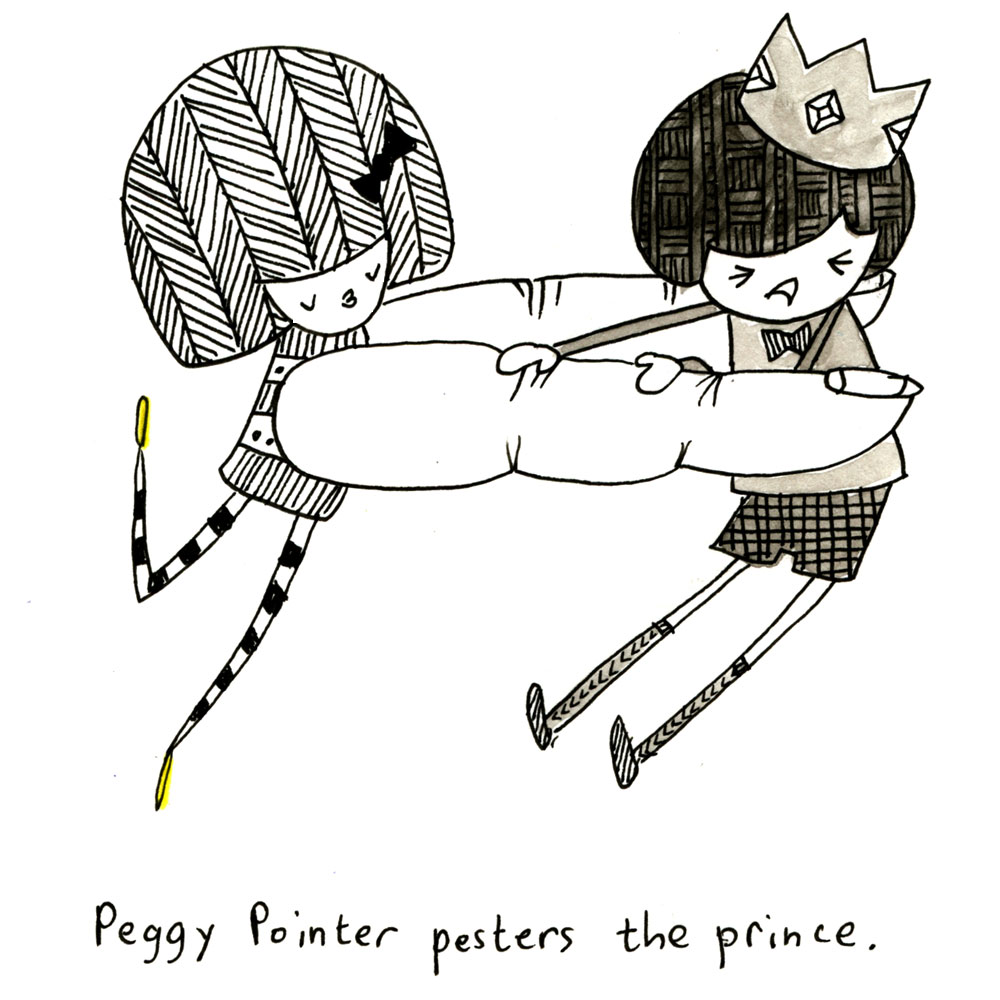 peggy pointer pesters the prince