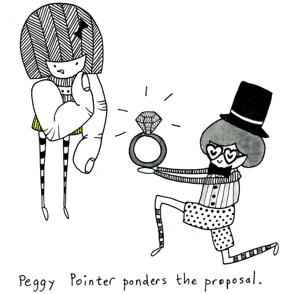 peggy pointer ponders the proposal