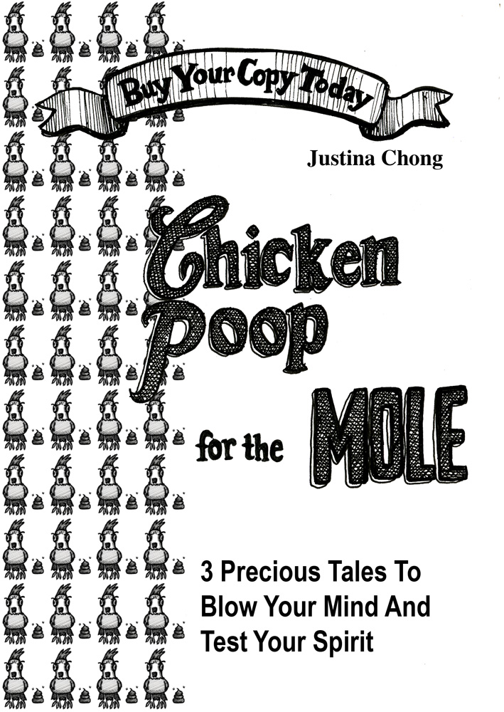chicken poop for the mole