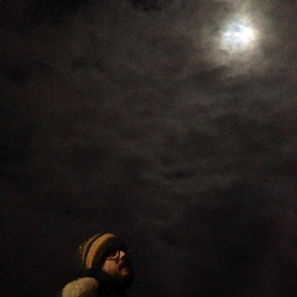 evan and the moon