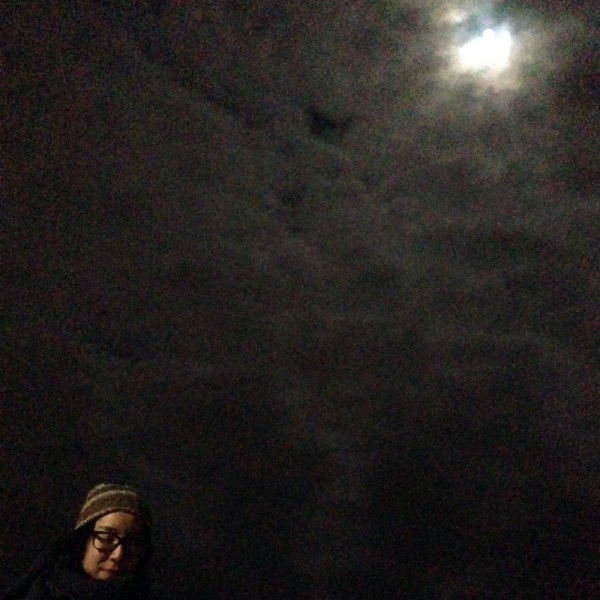 justina and the moon
