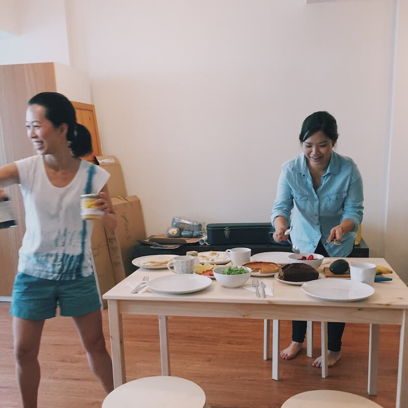 crepe party food stylists
