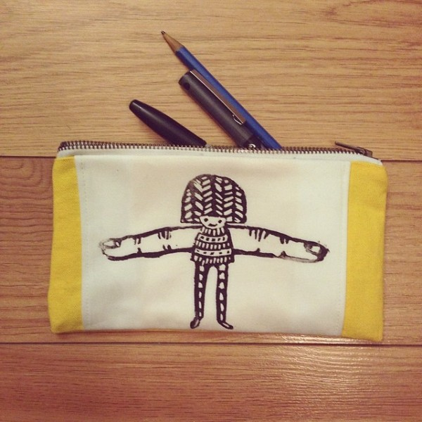 peggy pointer pouch