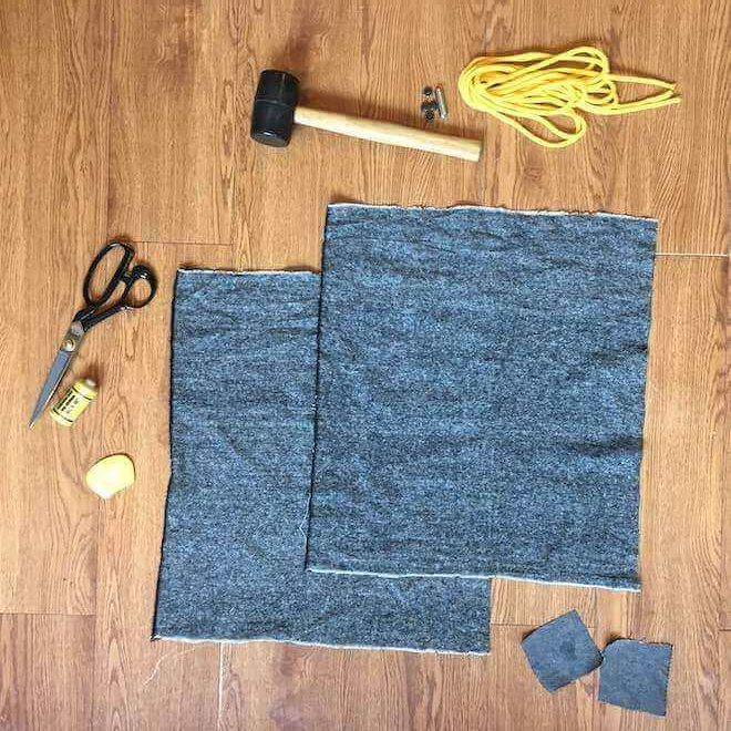 diy drawstring backpack materials