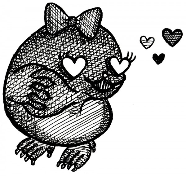 mrs. mole in love
