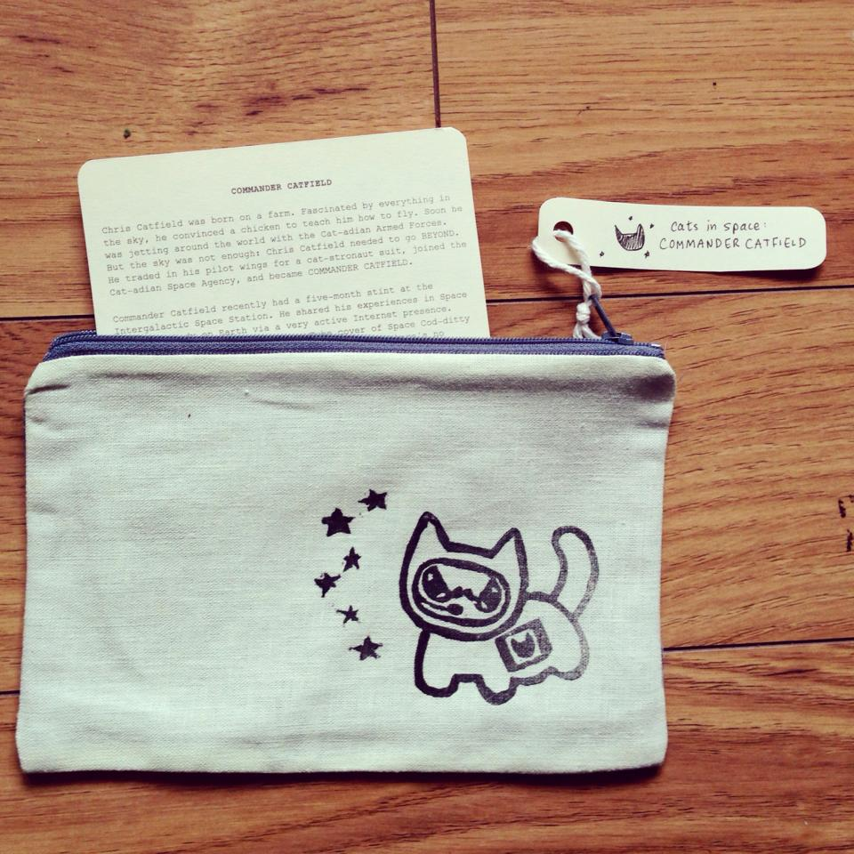 commander catfield pouch